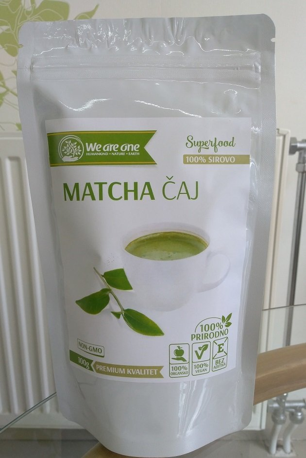 WAO Matcha čaj  100 g