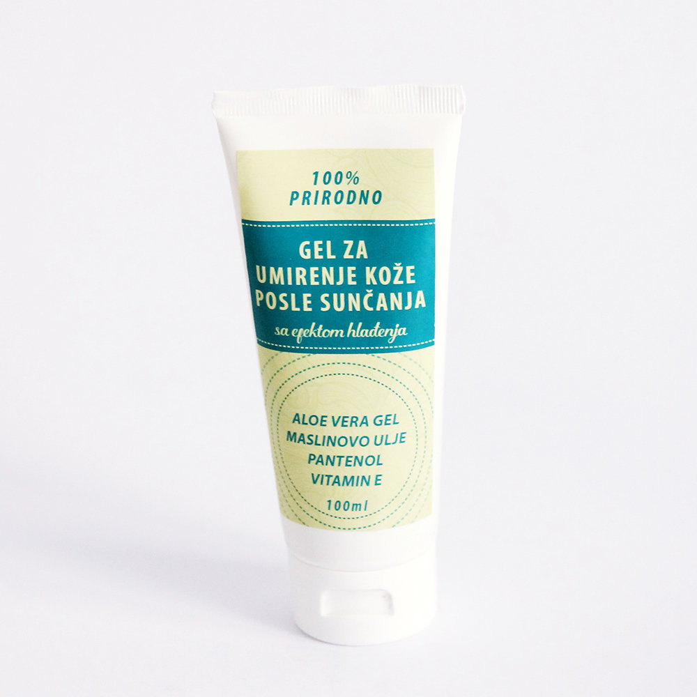 Herbateria - Gel za umirenje kože posle sunčanja, sa efektom hlađenja 200 ml