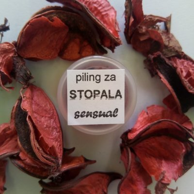 Herbateria - Tester piling za stopala sensual 5 ml