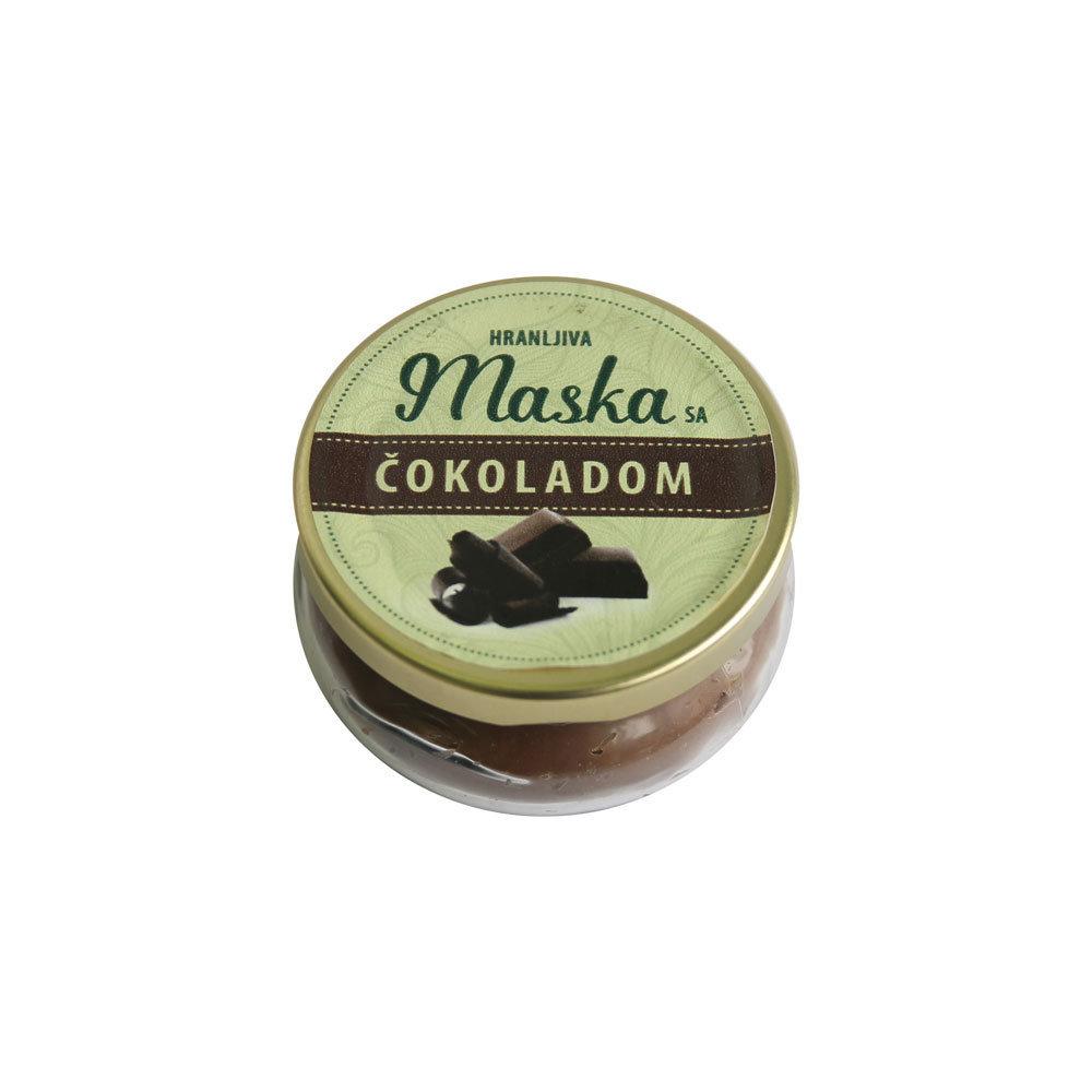 Herbateria - Hranljiva maska sa čokoladom 100 ml