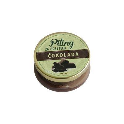 Herbateria - Piling za lice i telo čokolada