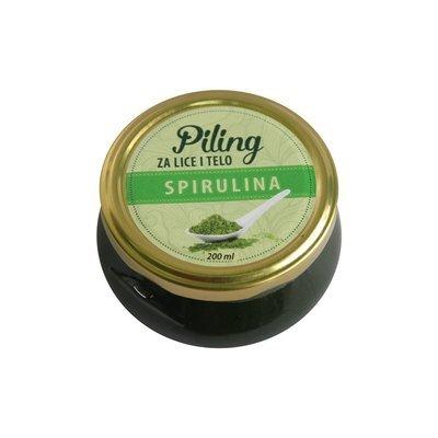 Herbateria - Piling za lice i telo sa spirulinom