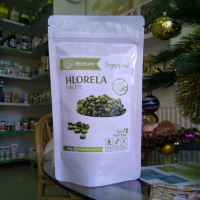 WAO Hlorela tablete 250 mg (400 kom) 100 g