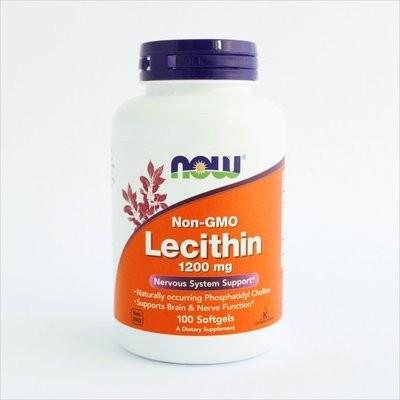 NOW Foods - Lecitin bez GMO-a 1200 mg (100 kapsula)