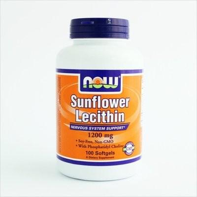 NOW Foods - Suncokretov lecitin 1200 mg (100 kapsula)