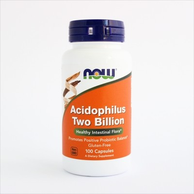 Now Acidophilus 2 biliona probiotika - za regulaciju crevne flore i imunitet