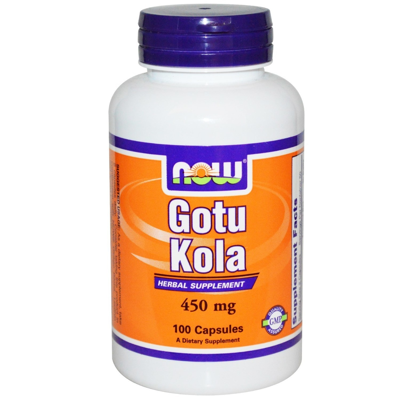 Now Gotu kola 450 mg-100 kapsula