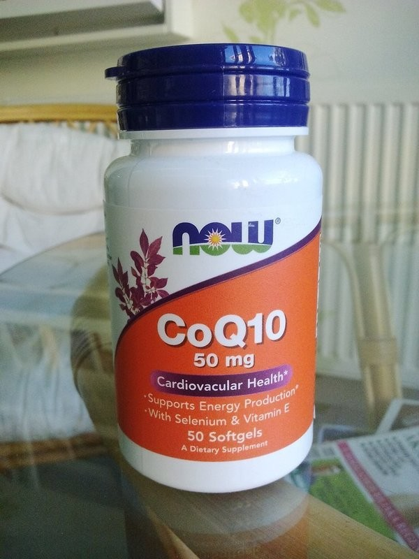Now Foods - Koenzim Q10 50 mg (50 kapsula)