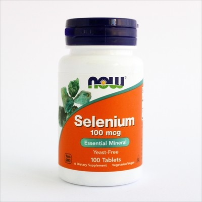 Now Selen - esencijalni mineral (100 tableta)