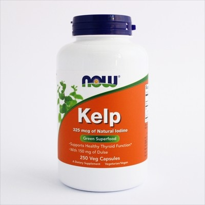 Now Kelp alge - 250 kapsula(325 mcg)