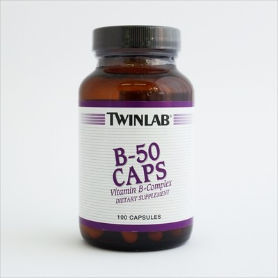 Twinlab B-50 cps kompleks B vitamina 100 kps