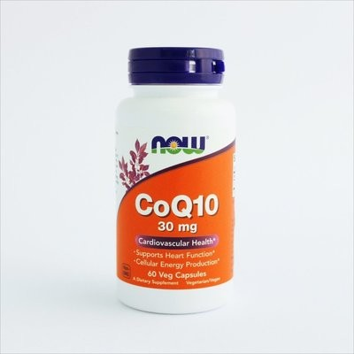 NOW Foods - Koenzim Q10 30mg (60 kapsula)