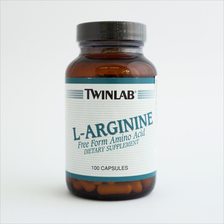 Twinlab L-arginin 500 mg 100 kps
