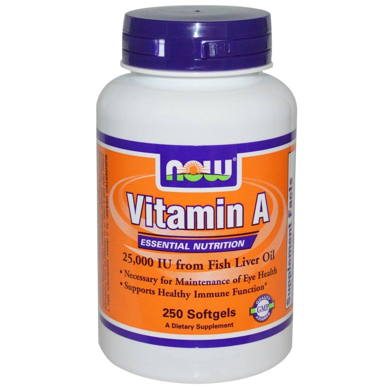 Now Vitamin A 10.000IU -100 kapsula
