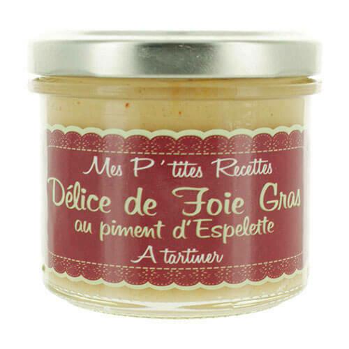 Mus z foie gras z papryką Espalette