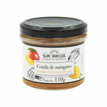 Konfitura z mango i pieprzem Espalette