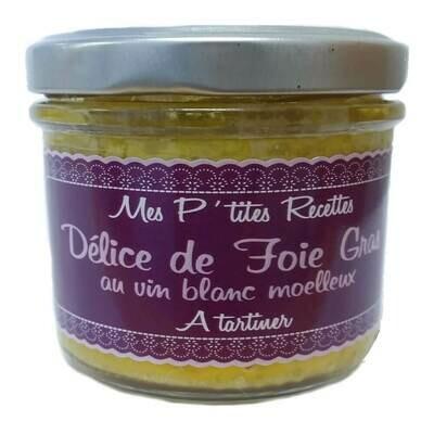 Mus z foie gras z białym winem