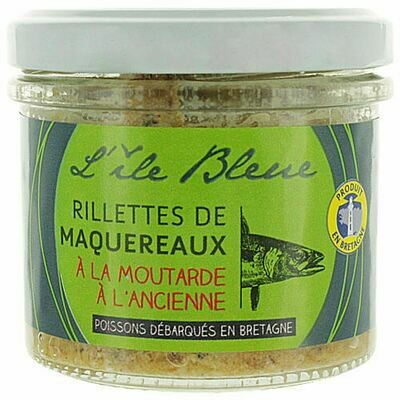 Rillettes z makreli z musztardą