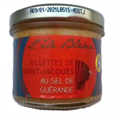 Rillettes z małży Świętego Jakuba i sól Guérande