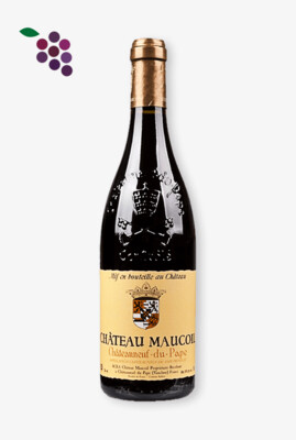 Chat. Maucoil Chateauneuf-du-Pape Rouge 75cl