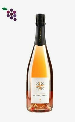 Victor & Charles Champagne Rosé 75cl