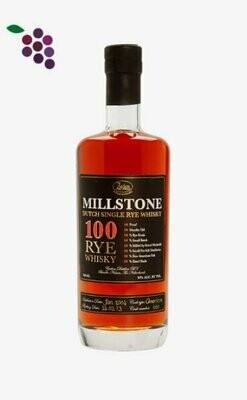Zuidam Millstone Whisky 100 RYE 70cl