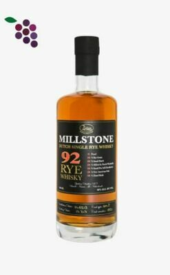 Zuidam Millstone 92 RYE 70cl