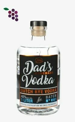 Zuidam Vodka Dad's 100cl