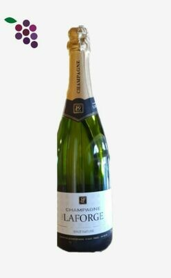 Guy LaForge Champagne Brut Nature 75cl