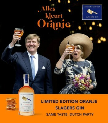 Slagers Gin Limited Edition Koningsdag 70cl