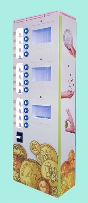 Автомат для продажи 12 видов монет - Vision версия