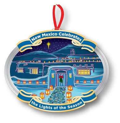 Collection of Available New Mexico Ornaments