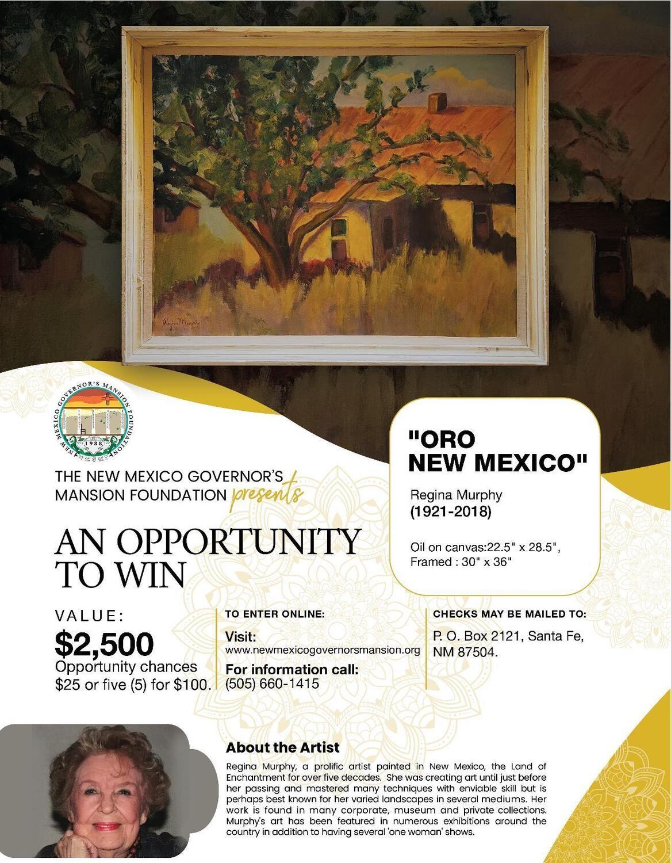 """5 Raffle Tickets - """"Oro New Mexico"""""""