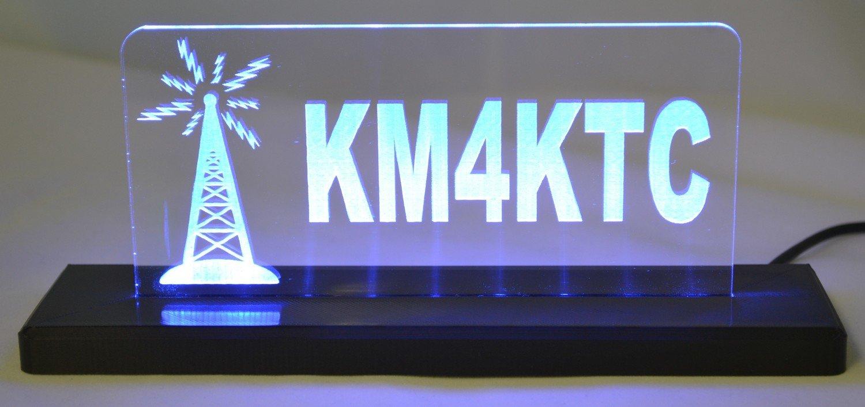Tower LED Desktop Sign