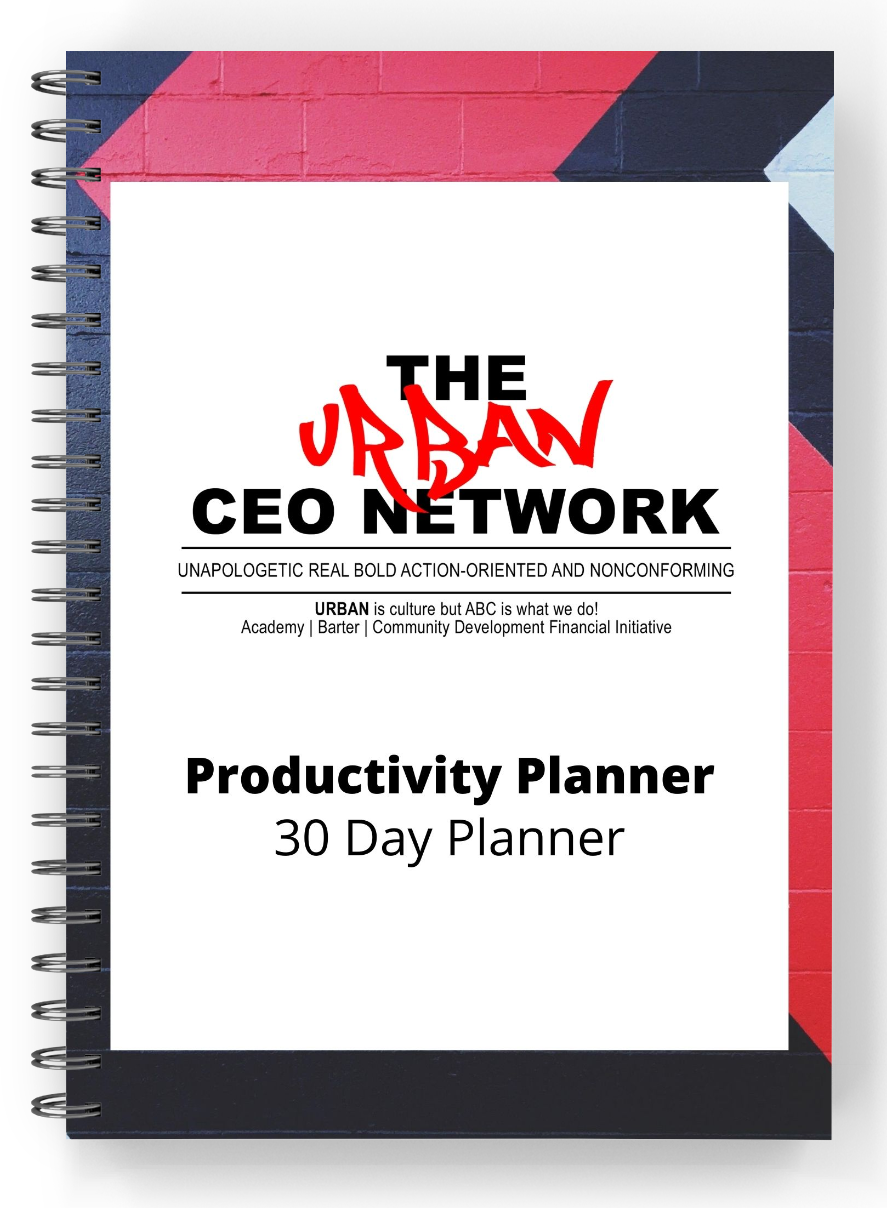 Urban CEO Productivity Planner
