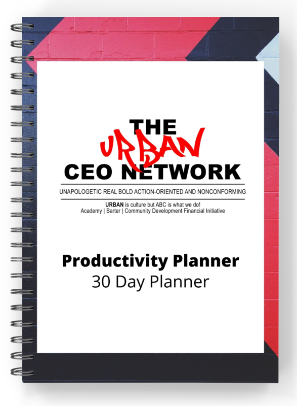 Urban CEO Productivity Planner