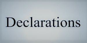 Lido Villas II Declaration