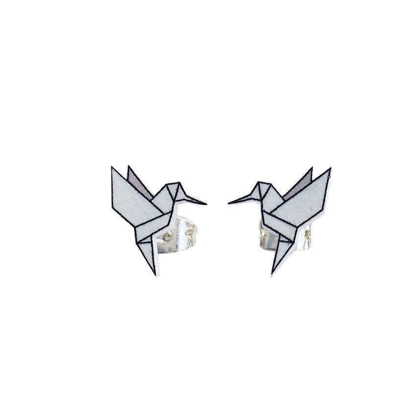 Origami Fly Coll. / Hummingbird Grey (UDGÅR!) ori_fly_hum_grey