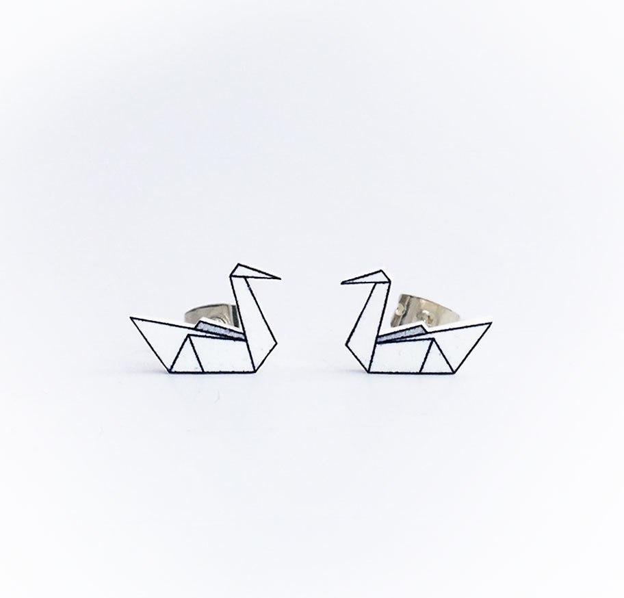 Origami Fly Coll.  / Swan / White (UDGÅR!) ori_fly_swa_whi