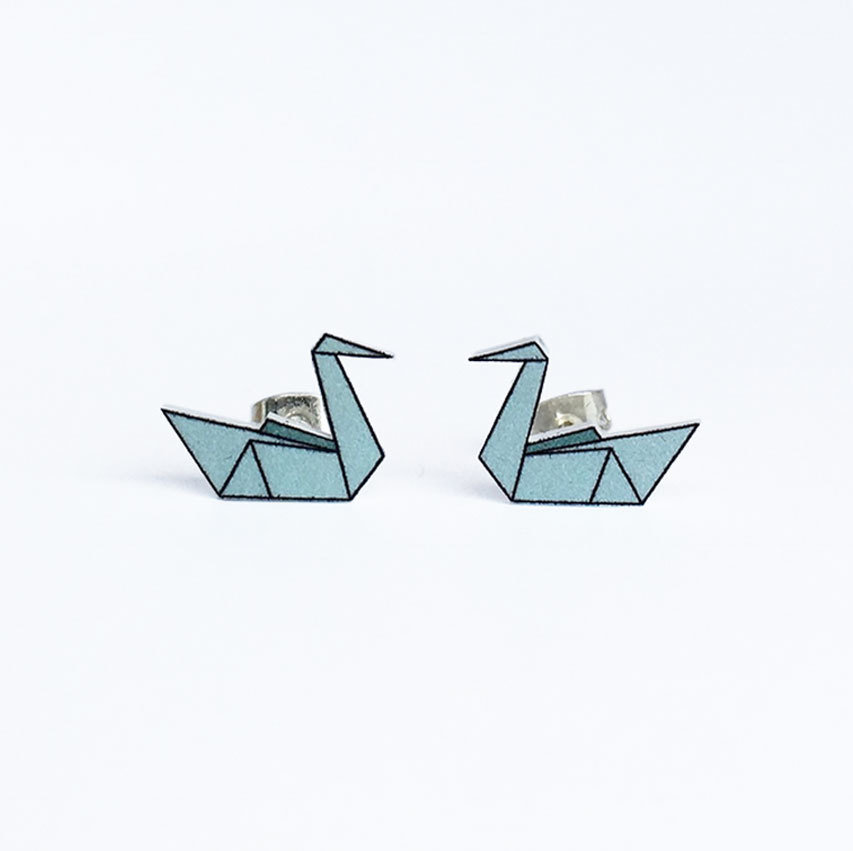Origami Fly Coll.  / Swan / DustyMint (UDGÅR!) ori_fly_swa_dumi