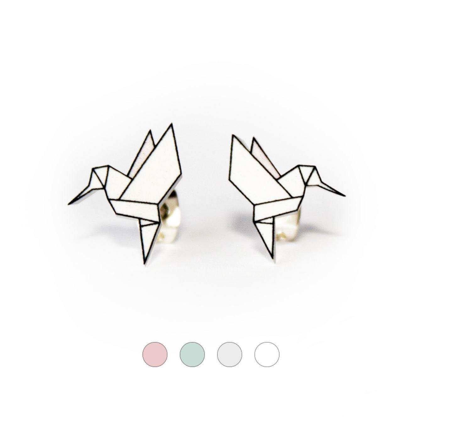 Origami Coll. / Hummingbird Ori_Hum_Whi