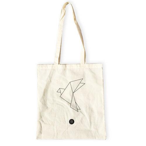 Mulepose/Totebag DOVE Origami_totebag_dove