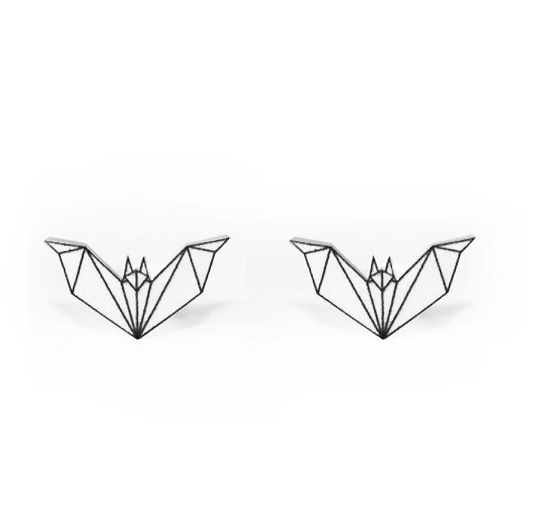 Origami Coll. / Bat / White (UDGÅR!) Ori_Bat_Wh