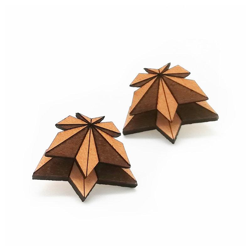 Origami Doppio / Leather / Maple / Nature OrDoLeMaNa
