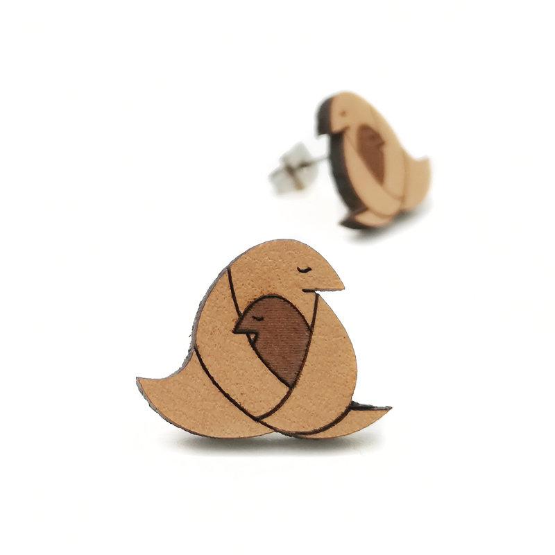 Origami / Leather / Motherhugger / Nature / Small OrLeMoHuNaSm