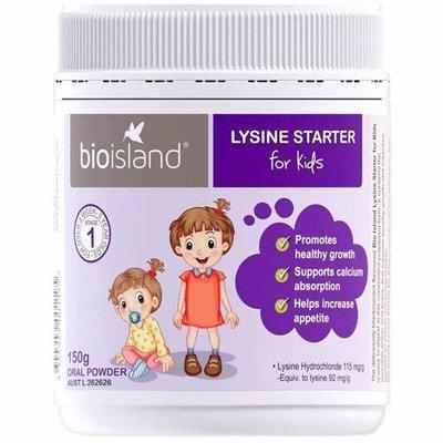 Bột tăng cân và chiều cao Lysine Bio Island