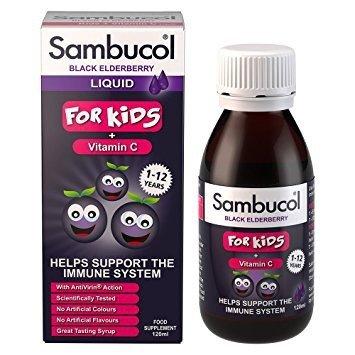 Siro Sambucol tăng đề kháng (120ml) - Anh
