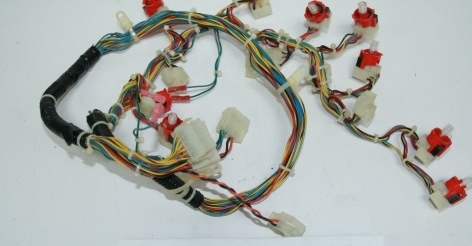 IGT Harness, Switch Panel 14SW 2.5AVP U/R 60860200W