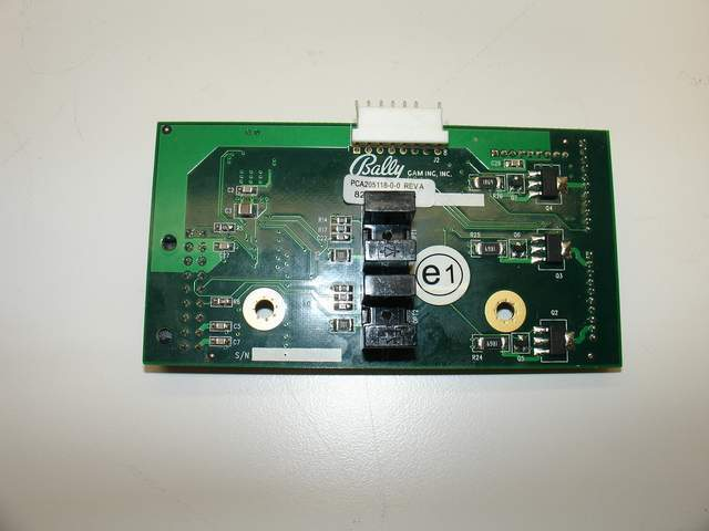 Bally Alpha S9000 Reel Board Assy (205118-0-0)