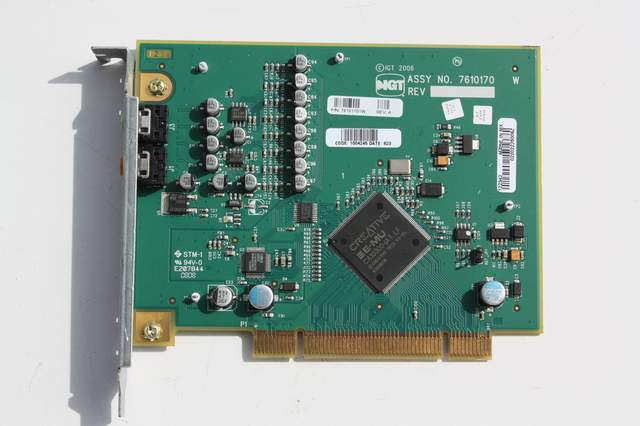 IGT PCB, 2.5 Audio Card, V2, Assembly (IGT 75403101W)